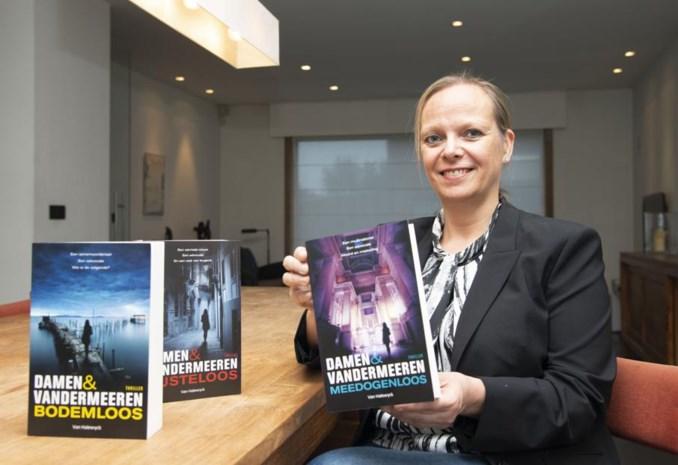 """55ste roman is meteen ook de laatste voor Hilde (50): """"Vrouwelijke thrillerauteurs worden miskend in Vlaanderen"""""""