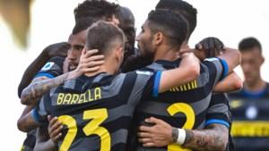 Inter en Lazio scoren elk één keer, maar pakken ook allebei rood in Italiaanse topper