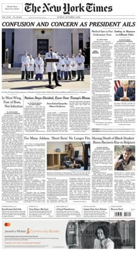 """Sanda Dia op cover van New York Times: """"Dood van zwarte student legt racisme in België bloot"""""""