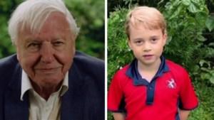 Britse prinsjes en prinsesje laten voor het eerst van zich horen en leggen sir David Attenborough op de rooster