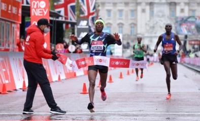 Shura Kitata bezorgt Eliud Kipchoge in Londen eerste nederlaag op de marathon in zeven jaar