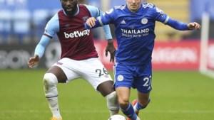 Timothy Castagne en Youri Tielemans lijden met Leicester eerste nederlaag tegen West Ham