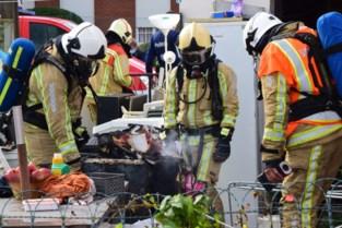 Brandende droogkast veroorzaakt veel schade in woning