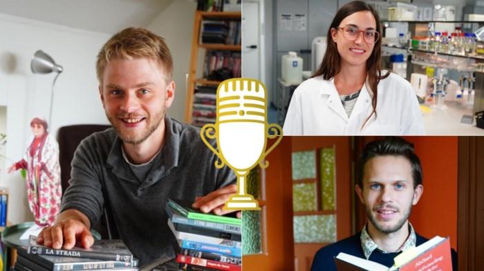 Jong en zot van wetenschap: drie van de acht finalisten in prestigieuze wedstrijd zijn Gents