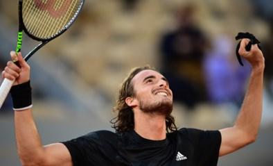Tsitsipas bereikt halve finales op Roland Garros na winst tegen Rublev