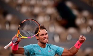 Rafael Nadal stopt Jannik Sinner op Roland Garros, maar is niet blij dat hij tot 1u30 (!) moest spelen