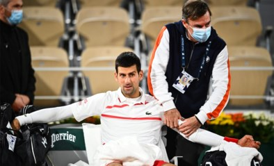 """Tegenstander stelt kwaaltjes van Djokovic in vraag: """"Ik weet niet of hij echt pijn of eerder mentale problemen heeft"""""""