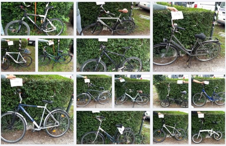 Fiets gestolen in Gent? Misschien staat hij hier wel tussen: politie verspreidt 90 foto's