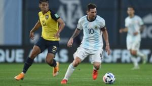 Messi en Suarez scoren belangrijke WK-kwalifictiegoals voor Argentinië en Uruguay