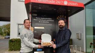 Eerste pizza-automaat van de Kempen geopend in Westerlo
