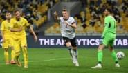Duitsland in spaarmodus voorbij Oekraïne (1-2) en wint zo voor het eerst in deze Nations League