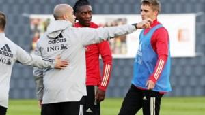 Jan Vertonghen en Dennis Praet zijn niet fit en kunnen niet spelen tegen Engeland