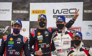 Hyundai pak met Sordo en Neuville plaatsen één en twee in Rally van Sardinië, onze landgenoot kan daarmee leven