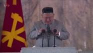 """Kim Jong-un pinkt traantje weg tijdens emotionele speech in """"coronavrij Noord-Korea"""""""
