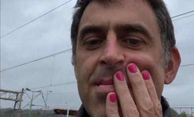 The Rocket heeft wel degelijk een goed hart: Ronnie O'Sullivan speelt met roze nagels om goed doel te steunen