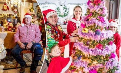 """Niet zeker of we dit jaar kerst kunnen vieren, maar dat houdt deze superfans niet tegen: """"Anders raken we nooit op tijd klaar"""""""
