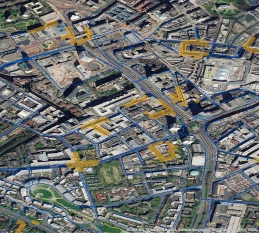 Antwerps drinkwaterbedrijf gaat met ruimtetechnologie voor Mars lekkages in leidingnetwerk opsporen