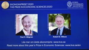 Amerikanen Milgrom en Wilson winnen Nobelprijs voor Economie voor onderzoek naar veilingtheorie