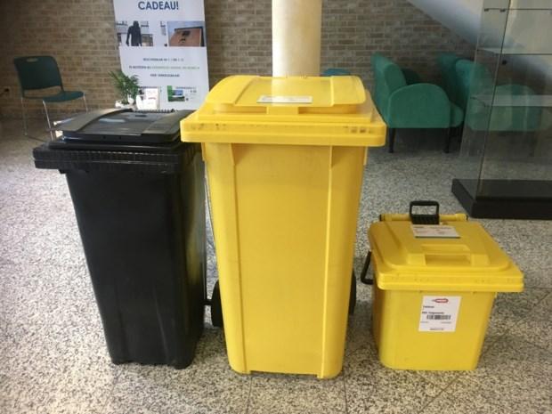 Ook in Keerbergen binnenkort gele containers voor papier en karton