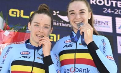 Dubbele gouden medaille voor Belgische meisjes op EK baanwielrennen