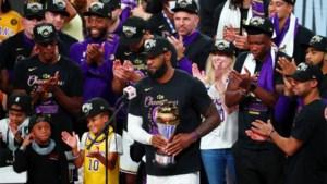 Een traan voor King Kobe, een pluim voor King James: na tien jaar staan de LA Lakers weer recht