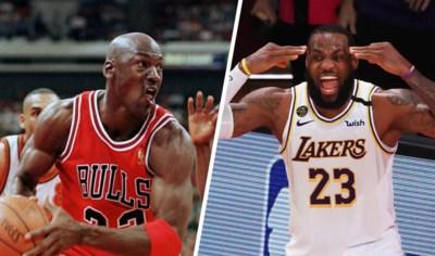 LeBron James versus Michael Jordan: wie is nu de allergrootste? Laat de cijfers spreken!