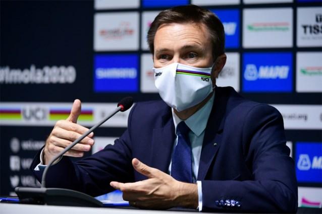 """UCI-voorzitter krijgt wind van voren van renners nadat hij kritiek op vakbond """"fake news"""" noemt"""