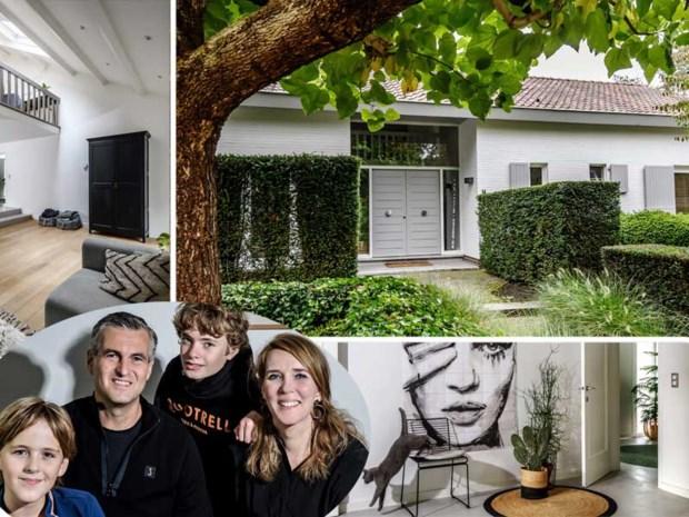 Hugo en Mascha maakten van een donkere seventieswoning een licht en modern huis
