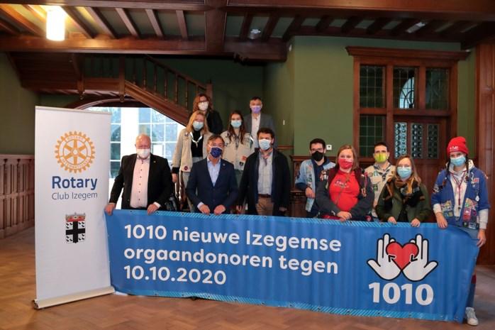 """Rotary vindt 1.010 donoren in Izegem en omstreken: """"Elke donor kan acht levens redden"""""""