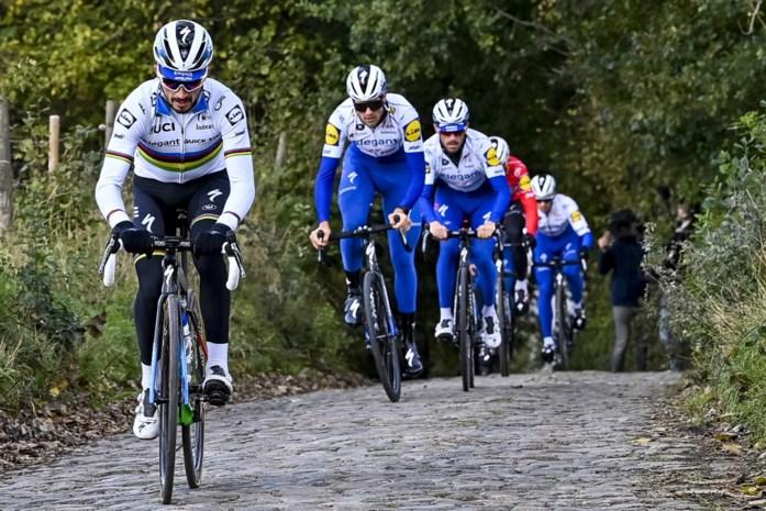 """Alaphilippe in de Ronde: statistieken pleiten tegen hem, """"maar ja, het is natuurlijk wel Julian"""""""