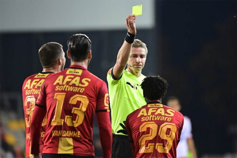 KV Mechelen from heaven to hell: KV Kortrijk takes full advantage of the Kaboré red card