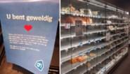 """Lege rekken in Albert Heijnwinkels door brand in distributiecentrum: """"Na het weekend is alles opnieuw aangevuld"""""""