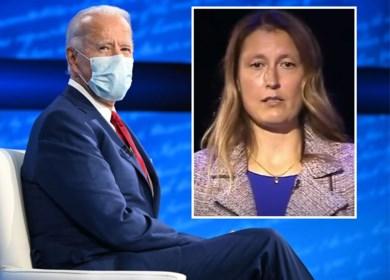 """Vlaamse mama van transgender meisje mag op Amerikaanse tv vraag stellen aan Joe Biden: """"Dochters waren heel blij met zijn antwoord"""""""
