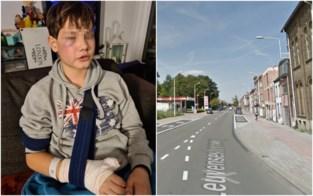 """Jongen (12) slachtoffer van zinloos geweld: """"Hij vroeg of mijn zoon homo was en is dan op hem gevlogen"""""""