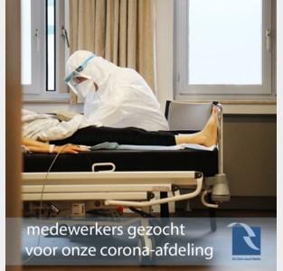 AZ Sint-Jozef zoekt extra personeel voor corona-afdeling nu aantal besmettingen stijgt