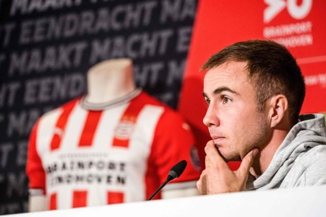 Götze al meteen trefzeker bij PSV na negen minuten