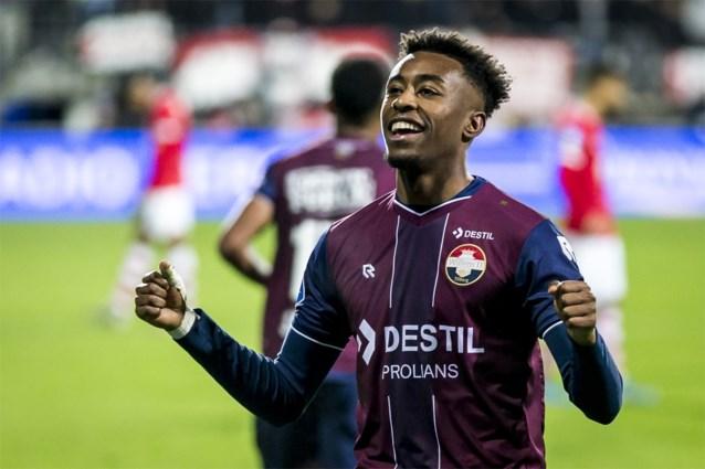 Willem II en Mike Trésor Ndayishimiye verliezen thuis van Twente Casteels drawt met Wolfsburg