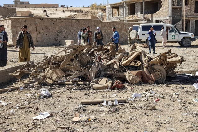 Twaalf doden en honderdtal gewonden door bomauto in Afghanistan