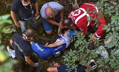 Ophef was voor niets: Remco Evenepoel gaat vrijuit na onderzoek naar flesje na val in Ronde van Lombardije