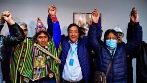 'Dauphin' van voormalig staatshoofd Evo Morales Arce wint de presidentsverkiezingen