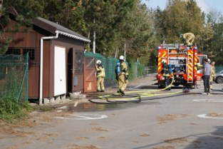 Voormalig kantoor recyclagepark vat vuur op nieuwe parking Howest