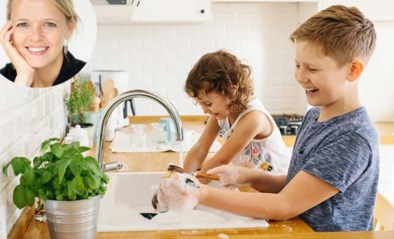 """""""Mijn kinderen mogen wel wat meer doen in het huishouden"""""""