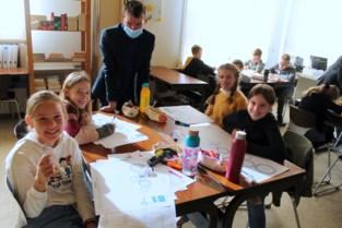 Leerlingen Emmaüs ontwerpen droommachine