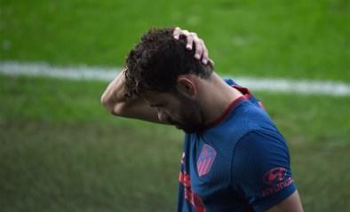 Diego Costa van Atlético Madrid is out met spierblessure
