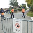 De politie voerde extra controles uit, zoals hier op de top van de Wolvenberg in Volkegem.