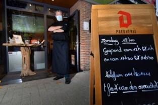 """Helft meer reservaties op zondag in restaurants: """"Opwerken wat we nog hebben"""""""
