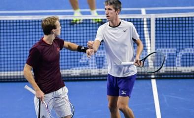 Michael Geerts en Yannick Mertens stoten door naar kwartfinale dubbelspel European Open