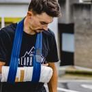 Julian Alaphilippe moet zo'n 3 weken in het gips na zijn val in de Ronde van Vlaanderen.