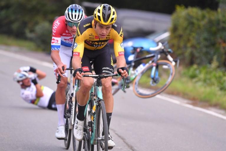 Operatie geslaagd voor Julian Alaphilippe na zijn val in volle finale Ronde van Vlaanderen