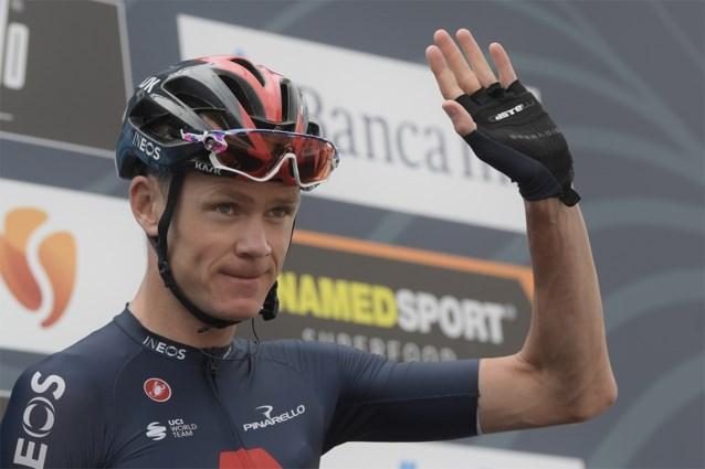 """Chris Froome start aan Vuelta in de schaduw van kopman Richard Carapaz: """"Ik weet niet of ik 100% ben"""""""